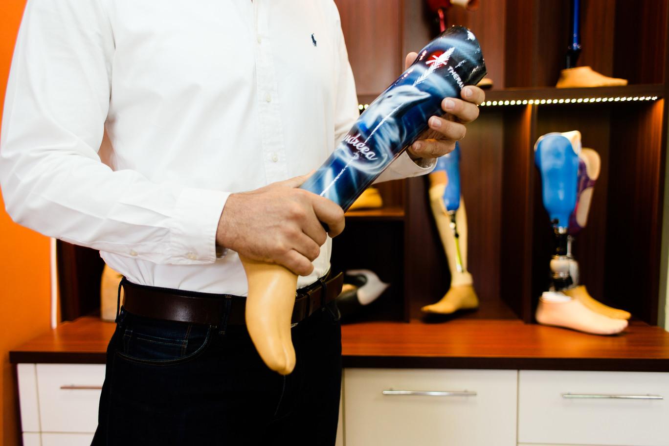 proteza de picior personalizata