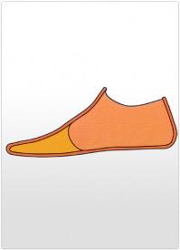 Proteza partiala picior Lisefranc din silicon